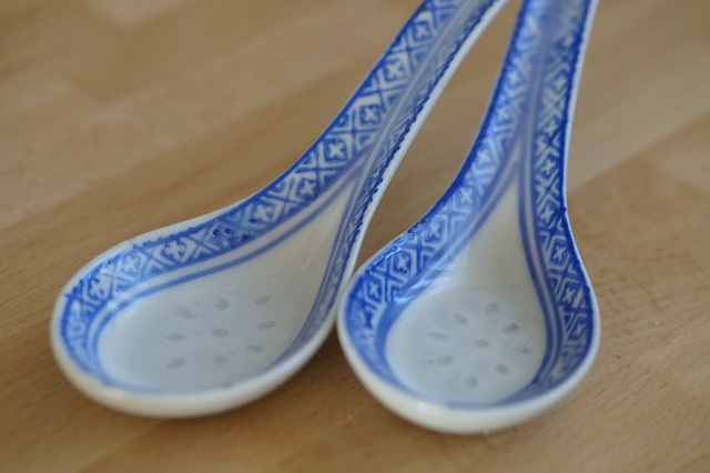 Porcelain Spoon Soup Spoon Porcelain Chinese